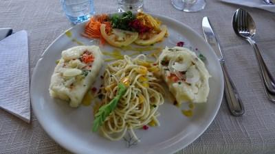 Repas végétarien au restaurant El Romero de Las Terrazas - Cuba