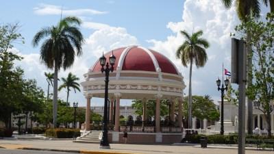 Le kiosque du parc José Marti - Cienfuegos (Cuba)