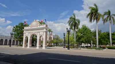 Le parc José Marti - Cienfuegos (Cuba)