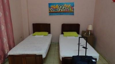 """Notre chambre à la casa """"Lyudis et Rafael"""" - La Havane (Cuba)"""