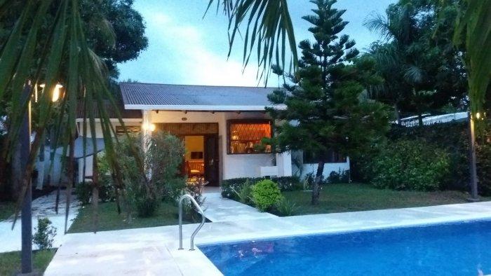 Notre maison le soir - El Roble (Costa Rica)
