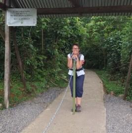 Départ du parc National du volcan Tenorio - Costa Rica