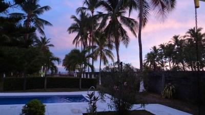 Soleil couchant sur El Roble - Costa Rica