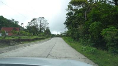 Sur la route du parc du volcan Tenorio (Costa Rica)