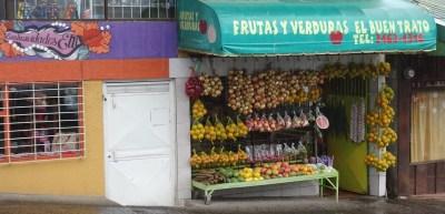 Frutas y verduras - Zarcero (Costa Rica)