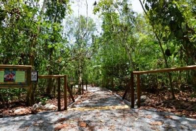L'entrée du Parc National Carara - Costa Rica