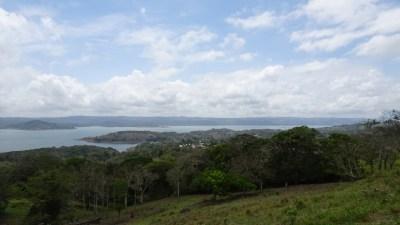 Le lac Arenal vue de l'hôtel Linda Vista - Costa Rica