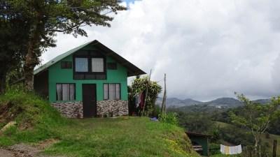 Une maison costaricienne traditionnelle
