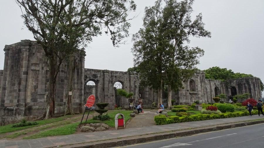Les ruines de la Parroquia - Cartago ( Costa Rica)
