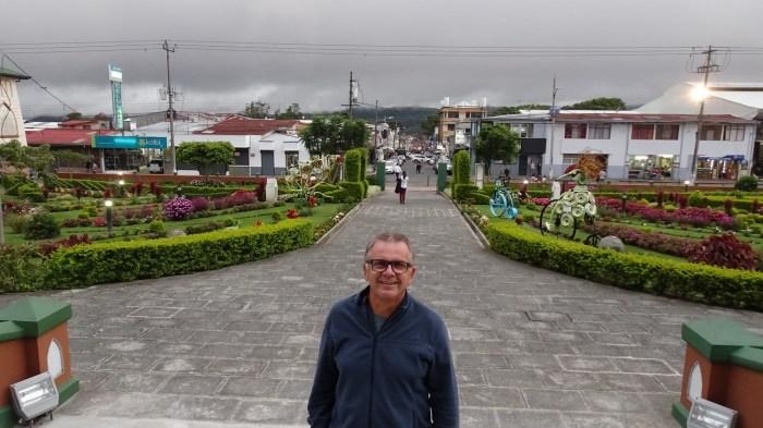 Devant le musée municipal de Cartago - Costa Rica