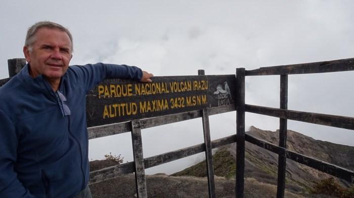 Au dessus du volcan Irazu - Costa Rica