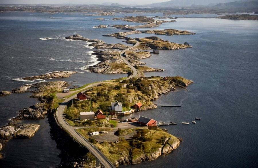 La route de l'Atlantique - Norvège