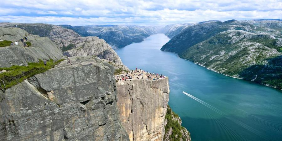 Preikestolen - Norvège