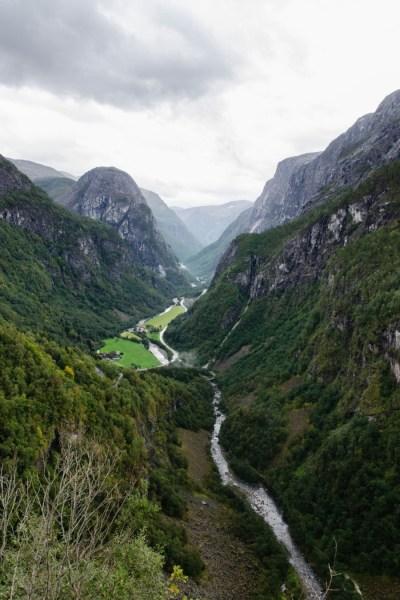 Le Naeroyfjord - Norvège