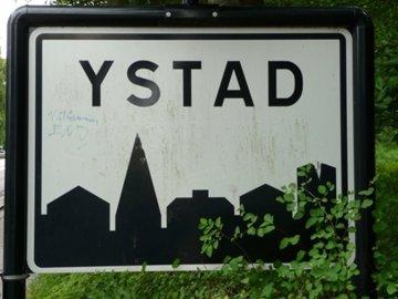 Panneau Ystad - Suède