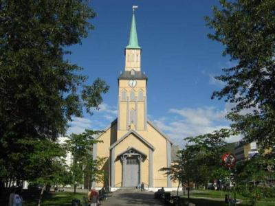 La cathédrale de Tromso - Norvège