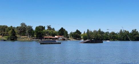 Le lac du Moulineau - Damazan