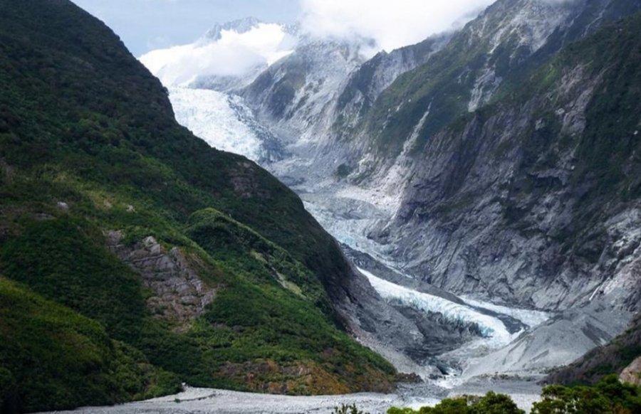 Le glacier Franz Josef - NZ