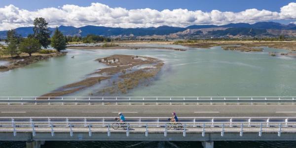 Le pont de Rabbit Island - NZ