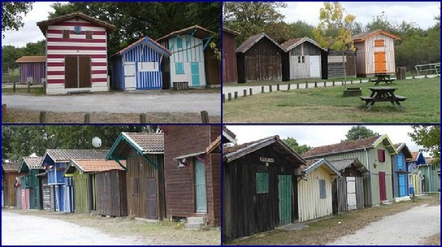 Les cabanes de Biganos - Bassin d'Arcachon
