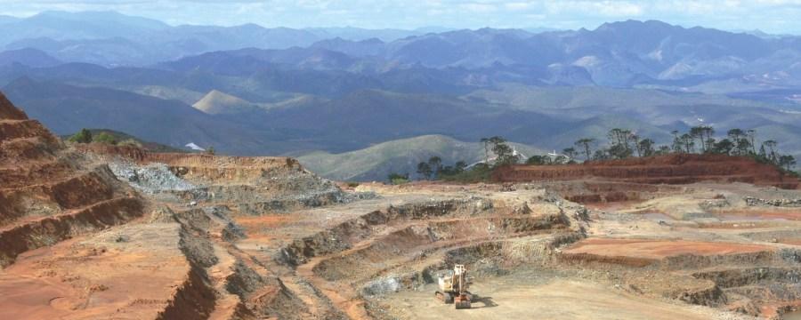 Les mines de nickel - Nlle Calédonie