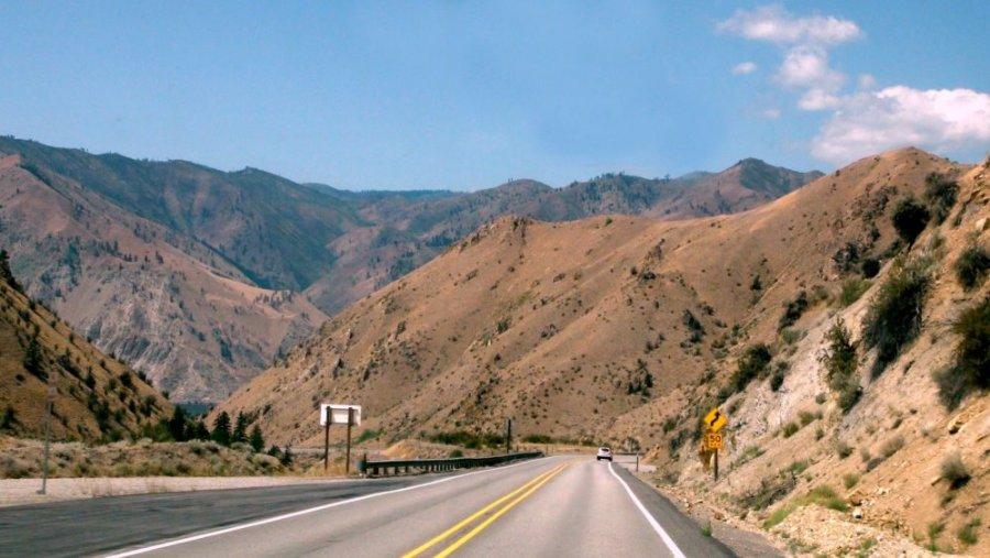 Entre Spokane et Leavenworth - USA
