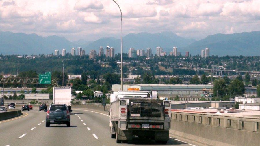 Arrivée sur Vancouver - Canada