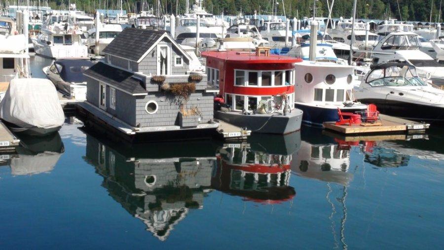 House boats - Vancouver - Colombie Britannique (Canada)