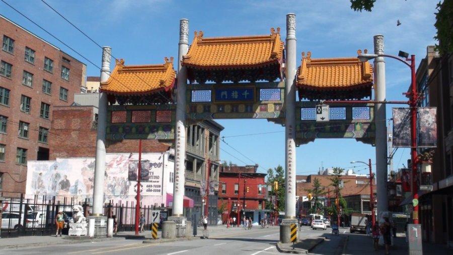 Le quartier chinois - Vancouver - Colombie Britannique (Canada)