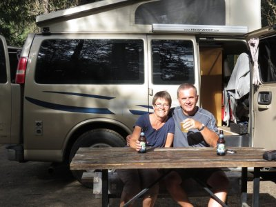 Au camping Koa de Leavenworth - Washington (USA)