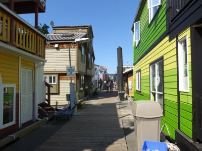 Fisherman's Wharf - Victoria - île de Vancouver (Canada)