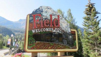 Field - Le parc National Yoho - Rocheuses canadiennes