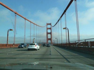 Le Golden Gate Bridge - San Francisco (Californie)