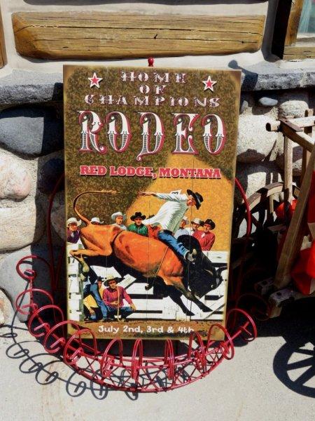 Rodéo de Red Lodge 4 Juillet 2015