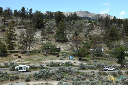 campground Mammoth Hot Springs - Yellowstone NP