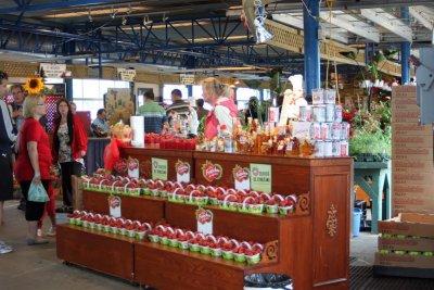 Le marché du vieux port de Québec