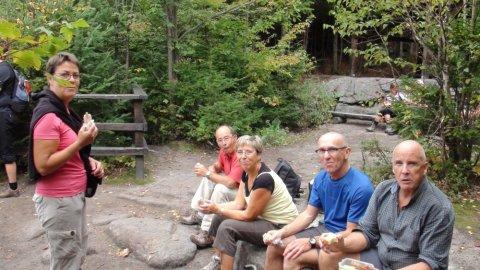 Balade au Parc Mt Wright - Québec