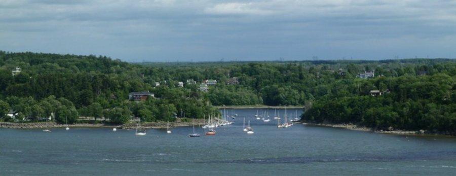 Le port de Levis - Québec