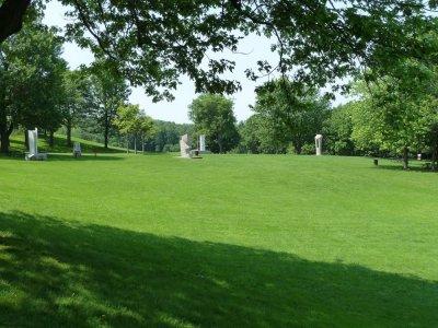 Le parc Mt Royal - Montréal