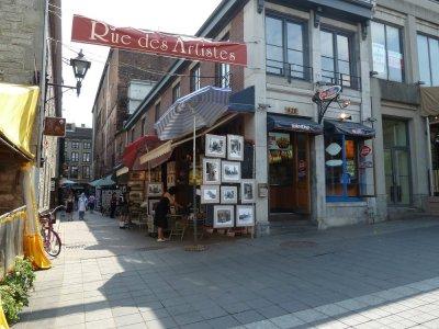 Le quartier St Paul - Montréal