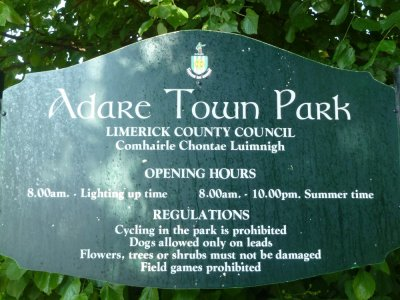 Les jardins d'Adare - Comté de Limerick (Irlande)