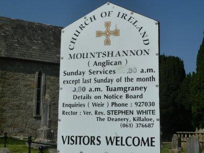 Eglise St-Caimins - Mountshannon (Irlande)