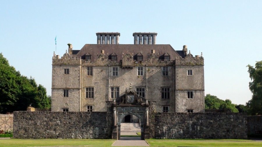 Le château de Portumna - Lough Derg (Irlande)