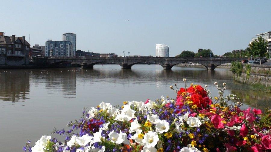 La rivière Shannon - Limerick - Irlande