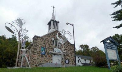 L'église de Val des Lacs - Québec