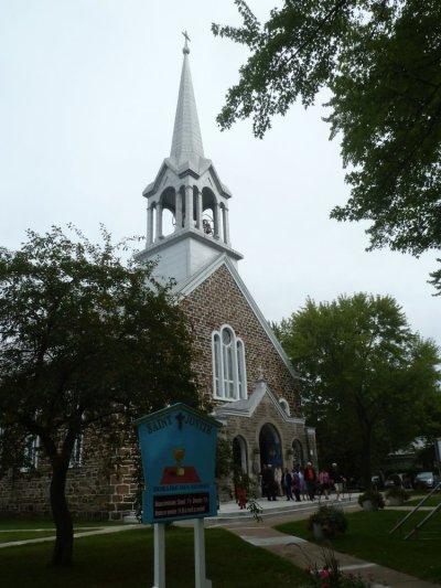 L'église de St Jovite - Québec