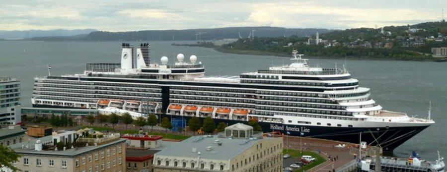 Le port sur le St Laurent - Québec