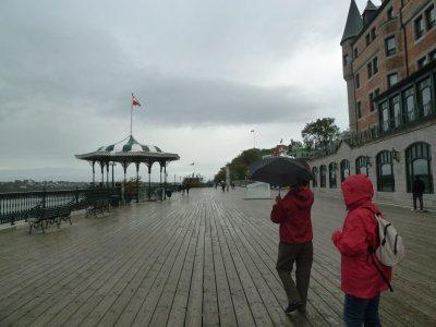 La terrasse Dufferin - Québec