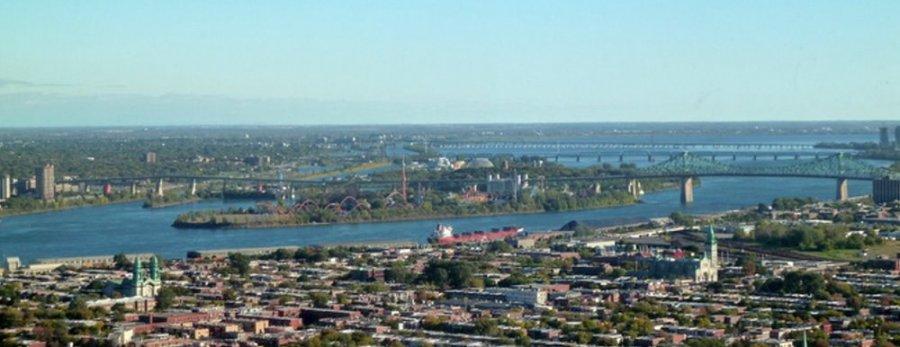 Montréal depuis la tour olympique