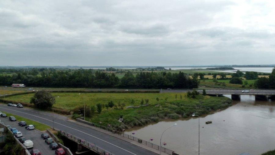 Vue depuis le château de Bunratty - Comté de Clare (Irlande)
